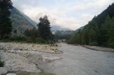 Baspa River near the Camp