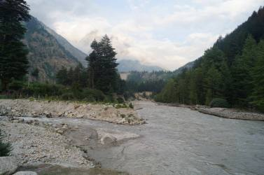 Baspa River near the Camp