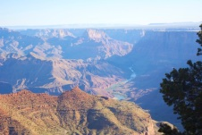 Grand Canyon As seen by the naked eye