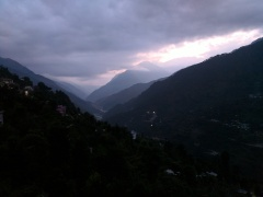 Sunrise at Guptkashi
