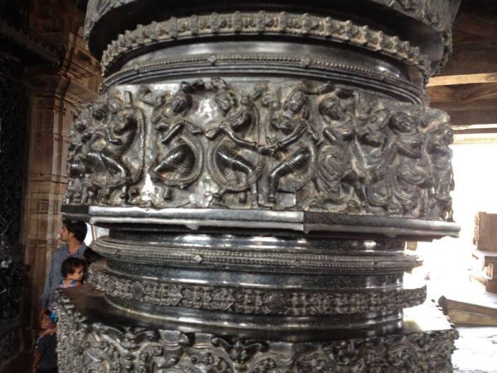 Inside Ramappa Temple