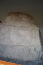 King Ashoka rock edict in Kalsi