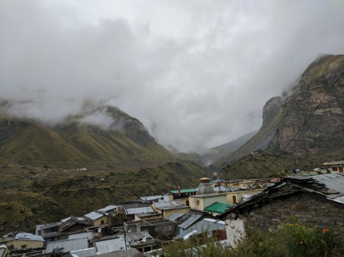 Mana village view
