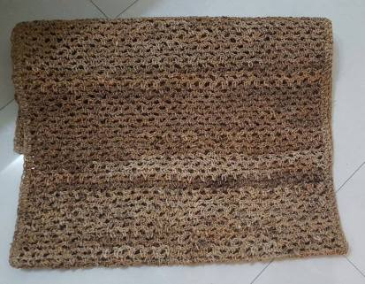 Mat made with Banana Fibre