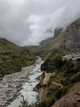 Meandering Alaknanda near Mana