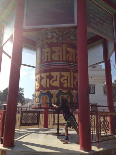 Mindrolling Prayer Wheel Dehradun