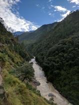 On the way to Gangotri