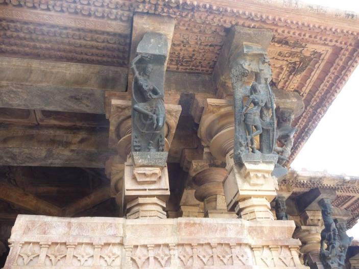 Ramappa temple sculptures
