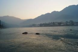 Sunrise in Rishikesh