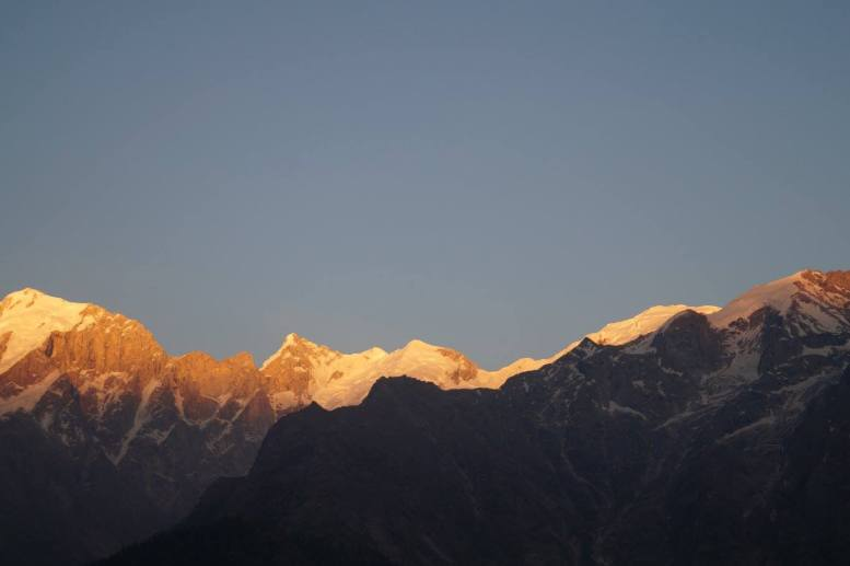 Sunset in Kalpa