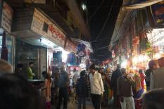 The bazaar in Haridwar