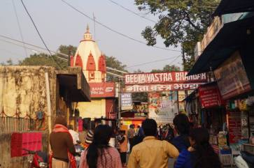 The bazaar in Rishikesh