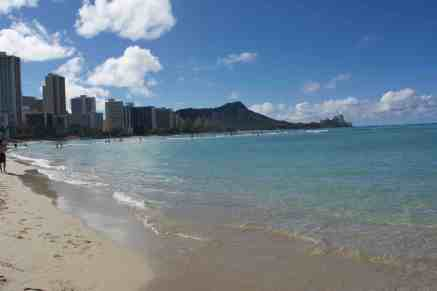 View of Diamond Head from Waikiki