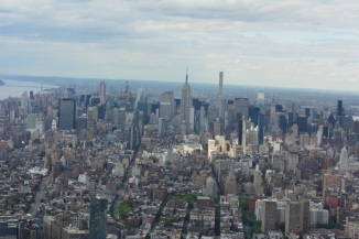 View of Manhattan from One World Center