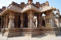 Vijaya Vittala Temple complex with the musical pillars