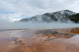 Yellowstone National Park continues