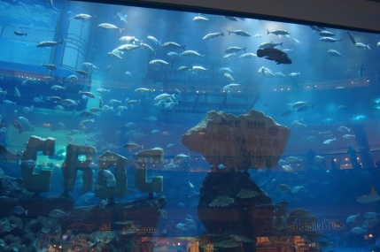 Aquarium at Burj
