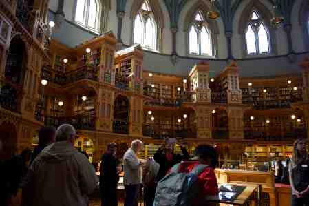 Canadian Parliament Library ... Aww books!
