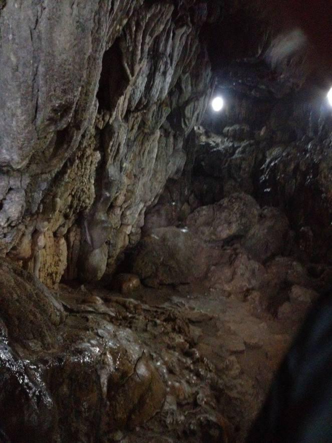 Cave adventure in Cherrapunji