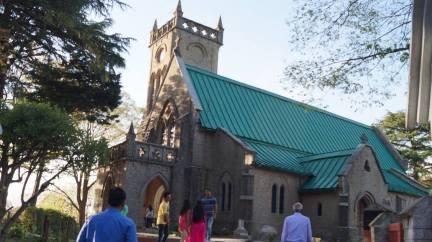 Church in Kasauli