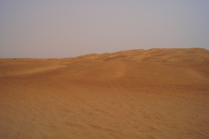 Desert on the way to Al Ain