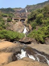 Dudhsagar Falls in Feb