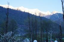 Manali view on one side