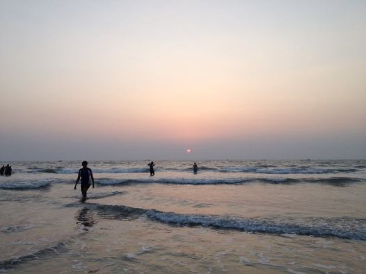 Sunset at Candolim