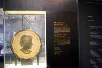 The Million Dollar coin at ROM