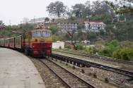 The Toy Train approaching