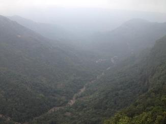 Valley in Cherrapunji