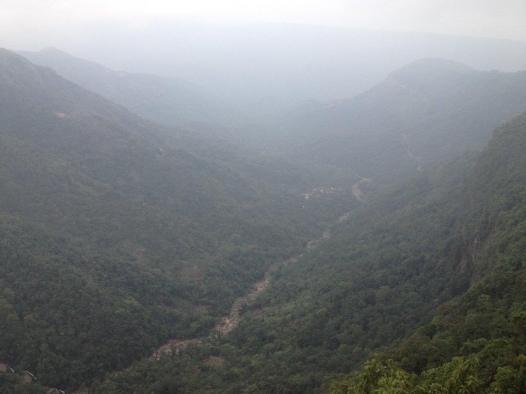 Valley in Cherrapunji