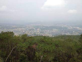 View from Shillong peak