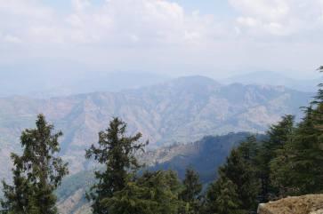 View in Khandaghat