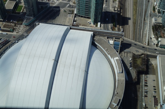 View of Sky Dome from CN Tower