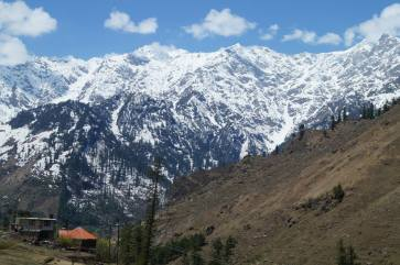 View on the way to Solang