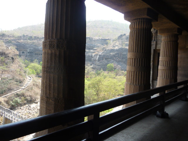 Ajanta 2nd Floor of cave