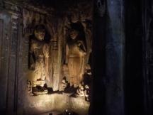 Ajanta caves sculptures