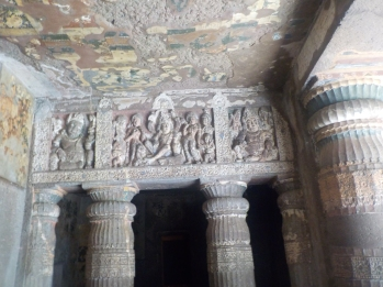 Ajanta paintings and sculptures