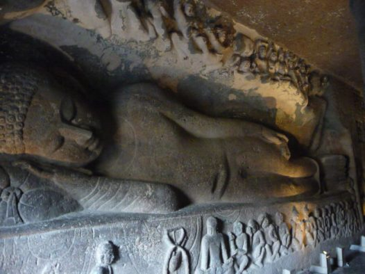 Ajanta Resting Buddha