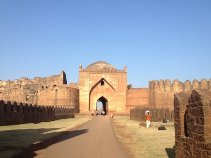 Another view of the fort entrance