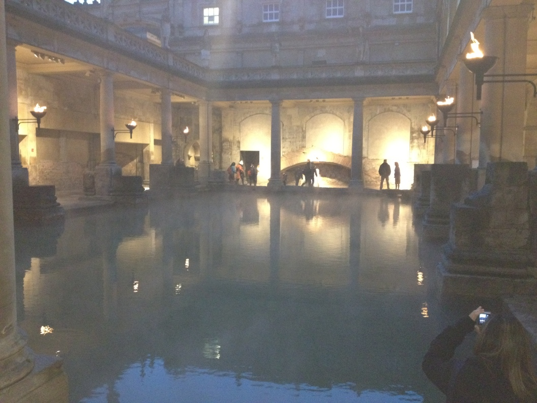 Beauty of the baths