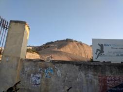 Bhongir Fort Entrance