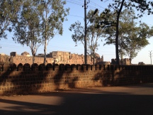 Bidar Fort from the outside
