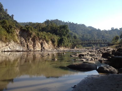 Likabali Iron Bridge