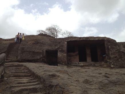 Exploring more of Kanheri Caves