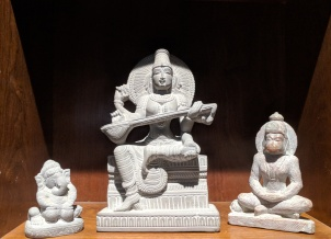 Figurines made of soap stone