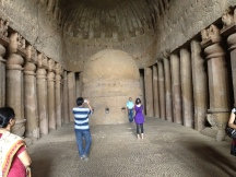 Prayer Hall Kanheri Caves