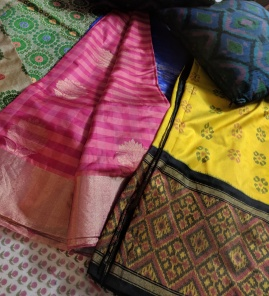 Sarees, cushions and more