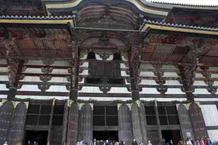 Nara Todaiji Temple Roofline